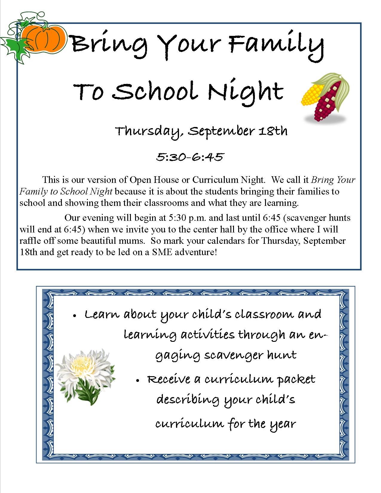 bring-your-family-to-school-night